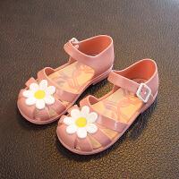 2-5岁儿童凉鞋女童果冻鞋时尚卡通凉鞋女宝宝公主鞋夏小孩沙滩鞋