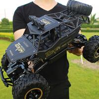 合金版仿真越野车 高速攀爬大脚赛车 大号遥控越野车四驱充电儿童玩具汽车模型 送小学生礼物