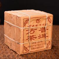 【6片一起拍;18年陈期老熟茶】90年代吉幸砖茶古树普洱熟茶 250克/片