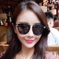 墨镜女潮 眼镜 偏光太阳镜女士圆脸 复古时尚眼镜 支持礼品卡支付