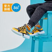 【折后�B券�A估�r:72.5】361度童鞋 男小童跑鞋2020秋季新款�底�和�男童�\�有�休�e鞋