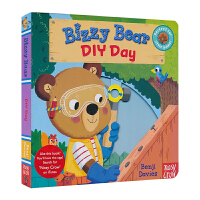 Bizzy Bear 小熊很忙 Diy Day 忙碌的小熊 机关书 纸板书 儿童英文原版进口图书