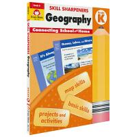 Evan-Moor Skill Sharpeners Geography Grade K 幼儿园地理练习册 美国加州教