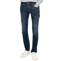 网易严选 男式基础合体窄脚牛仔裤