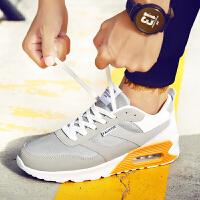 领舞者男士运动鞋透气网布跑鞋增高气垫慢跑鞋