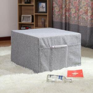 布艺创意榻榻米沙发床换鞋凳单人折叠拆洗组合沙发凳沙发垫沙发踏