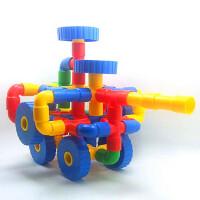 儿童水管玩具3岁以上益智塑料拼插拼装式管道积木
