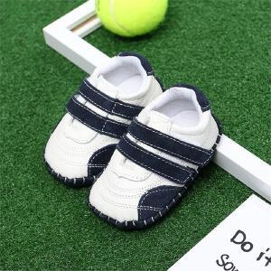 春秋款宝宝室内休闲皮鞋0-1-2岁婴儿软底透气学步鞋男女小童单鞋