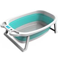 婴儿洗澡盆家用宝宝折叠浴盆大号儿童泡澡缸新生儿沐浴桶用品