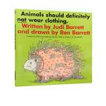 英文原版绘本 Animals Should Definitely Not Wear Clothing 动物*不应该穿衣