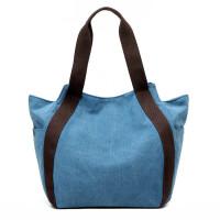 小挎包女迷你型水洗帆布女包 新款简单实用手提包大容量随身单肩包结实手提袋包包