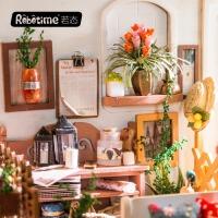 若态 3d立体拼板木质diy小屋创意礼物纯手工拼装米勒的阳光花园