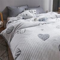 珊瑚绒毛毯毛巾被加厚冬季保暖床单宿舍单人学生午睡小被子