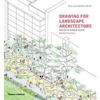 正版 Drawing for Landscape Architecture: Sketch to Screen to S