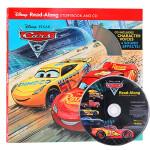 英文原版绘本 Cars 3 Read-Along Storybook with CD 迪士尼赛车汽车总动员3一起读 3