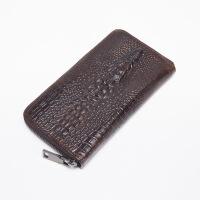 男士手包驾驶证钱包一体男士长款钱包鳄鱼纹商务多卡位大容量手拿包钱夹