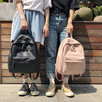 书包女韩国森系软皮高中大学生双肩包2018新款百搭潮皮质