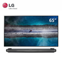 LG 65英寸4K超高清OLED电视智能网络杜比全景声全面屏壁纸电视 OLED65W9PCA 黑色