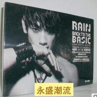 郑智薰Rain:返朴归真亚洲特别版BackToTheBasic(CD DVD)
