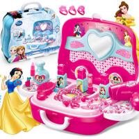 儿童女孩仿真过家家女童公主玩具套装梳妆化妆台盒