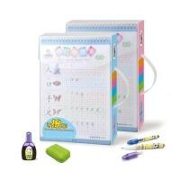 魔笔小良 描红擦擦卡涂鸦文具套装益智 儿童学习绘画工具,练字板 练字帖 MP-2727B 送给孩子的礼物
