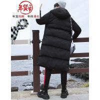 冬季加长大棉衣男士外套中长款过膝加厚韩版学生潮流大棉袄子