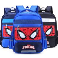 小学生书包蜘蛛男侠1-3-5-4-6一年级儿童书包男孩6-12岁双肩背包