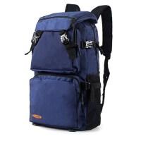 户外防水登山包旅游休闲电脑书包 大容量旅行包背包韩版女双肩包男