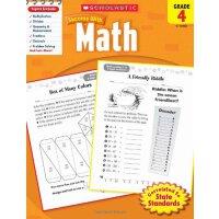 Scholastic Success with Math, Grade 4 学乐成功系列:四年级数学【英文原版】