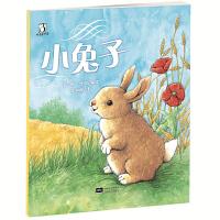 啄壳绘本馆系列 小兔子 3-6岁启蒙亲子读物图画书 早教书睡前故事书 原创礼仪绘本 儿童图书籍读物