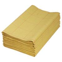 米字格毛笔书法练习纸 38*65cm 带格毛边纸 50张左右