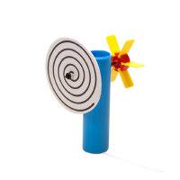 儿童礼品科技小制作 儿童幼儿园科学玩具物理实验材料科普玩具创意旋转盘
