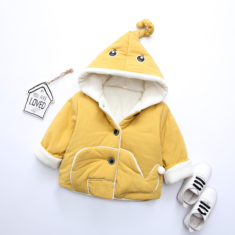 宝宝冬装外套棉衣男童棉袄女冬季婴儿衣服童装潮