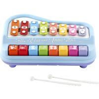 迪士尼Disney 儿童乐器 冰雪奇缘多功能趣味敲琴女孩公主玩具SWL-723