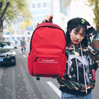 双肩背包女潮新款韩版中学生高中生书包男时尚潮流个性街头潮流电脑包