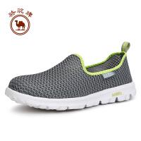骆驼牌户外 情侣款徒步鞋 低帮减震速干情侣鞋