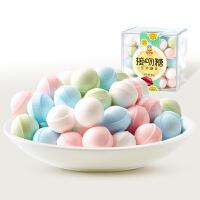 【99元任选15件】来伊份接吻糖90g 网红香体糖薄荷清凉糖果盒装喜糖休闲零食