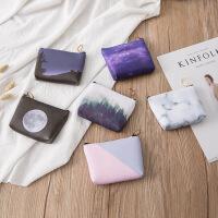 超炫酷 零钱包 韩版果冻胶硬币包 可爱糖果色收纳包一件