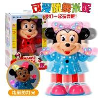 维莱 新款儿童电动跳舞妮妮 音乐灯光电动玩具机器人