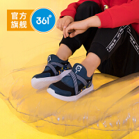 【1件5折到手价:109.5】361童鞋男小童2019秋季新款一脚蹬方便舒适儿童休闲鞋N71934803