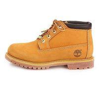 Timberland/添柏岚新款正品女款全粒面防水皮革鞋面低靴23399