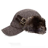 帽子女秋冬季户外贝雷帽女款鸭舌帽休闲帽保暖厚