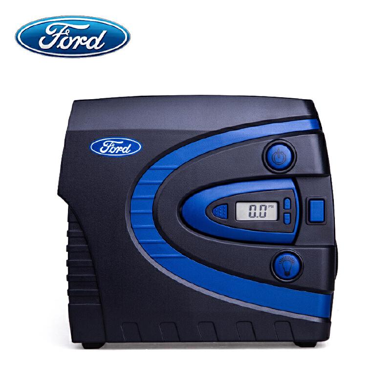 【支持礼品卡支付】福特(FORD)C40A 车载充气泵 预设胎压 数控自动充气 带可拆卸胎压计表国际 一件物品满足三种需求
