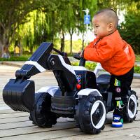 儿童电动挖掘机玩具车可坐可骑宝宝大号男孩挖土机可遥控工程车