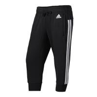 Adidas阿迪达斯女裤 运动休闲中裤七分裤 S97107 现