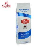 JUJIANG/巨匠 经典蓝标 巴西咖啡豆 进口现磨纯黑咖啡粉 原装500g