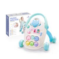 婴儿学步手推车6-18个月男孩防侧翻宝宝学走路助步车玩具