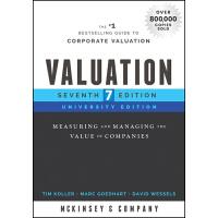 【预订】Valuation, University Edition, Seventh Edition - Measuri
