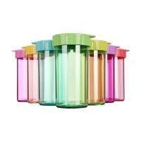 特百惠 雅致随手杯310ml塑料杯便携防漏学生儿童水杯