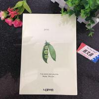 新款联华A5 120张快乐蔬菜封套裸装 白纸 素描本/笔记本12760K (4本包邮)